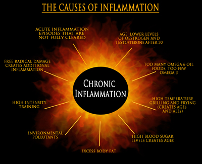 Sugar and inflammation in the body
